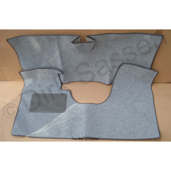 Set of floor mats, DSuper, ID, gray, front and back
