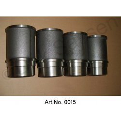 Pistons & Bushings & Rings DS / ID 19, set, until 1965, arched piston crown