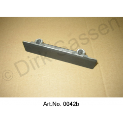 Slide rail for motor chain