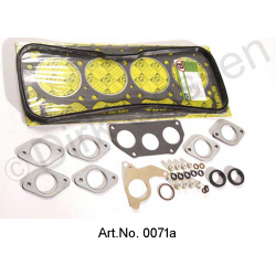 Cylinder Head Gasket Set, DX 3, 2174 cm³, now only as complete engine seal Art.No. 0079