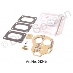 Gasket for carburettor, Weber (28/36 DDE, DLE), with float needle valve