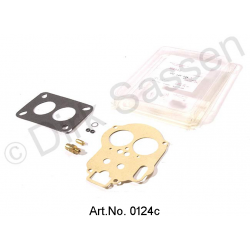 Carburetor gasket set, Weber (24/32 DDC), with float needle valve