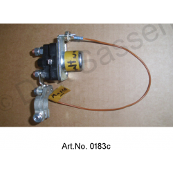 Starter relay conversion kit, for towing vehicle (see enclosed installation instructions), better than original