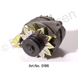 Alternator, 12 volt, three-phase, from 1968, spare part