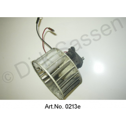 Blower motor for radiator, with fan, as new