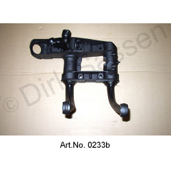 Swing arm unit, front, left, break, replacement part