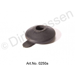 Collar for tie rod, with grease nipple