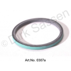 O-ring seal, LHM, square, for pressure accumulator, spring ball