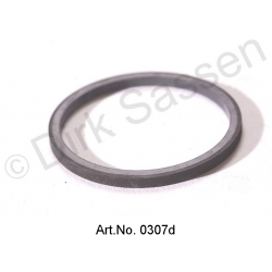 O-ring seal, LHS, square, for pressure accumulator, spring ball