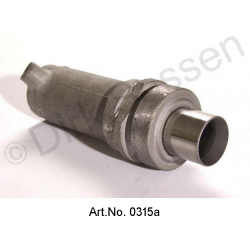 Spring cylinder, rear, saloon, LHM, overhauled, exchange part