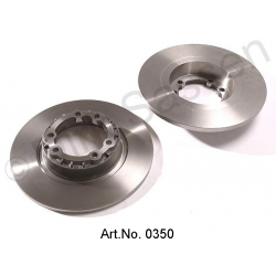 Pair of brake discs, from 1965