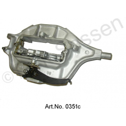 Brake caliper, front, complete, left, LHS, with new pistons, until 1965, replacement part