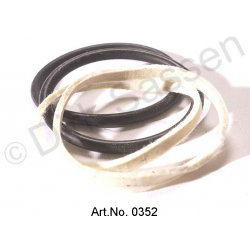 Afdichtringset voor remklauw, LHM (2x vilten ring, 2x O-ring)