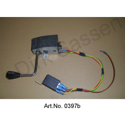 Turn signal switch, until 1968, electronically converted improved flashing frequency, without light horn function, exchange part