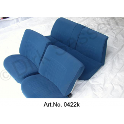 Seat covers, Non-Pallas, high quality, suede, front seats and rear seat, pre-assembled, spare part