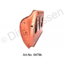 Door, front, right, sandblasted and repaired, from 1971, spare part, SUPPLEMENT FOR LOCKING