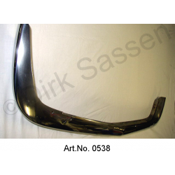 Bumper leaf, rear, bottom, polished, SUPPLEMENT FOR LOCKING
