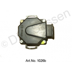 Throttle valve switch, Bosch, revised, exchange part