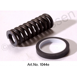 Revision set for clutch slave cylinder, rubber ring, square, 24 mm, with teflon ring and spring, from 1972
