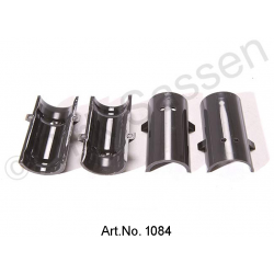 Nylon bearing shell for anti-roll bar, set of 4 pieces