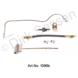 Conversion kit for articulated cable, LHM, left (1 x 0276, 2 x 0275, 1 x 0274, 1 x 1095, 1 x 1093, 1 x 1094)