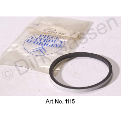Locking gasket for spring cylinder, original spare part, LHM, 48 x 53,9 x 3, for sedan, up to 05/1972