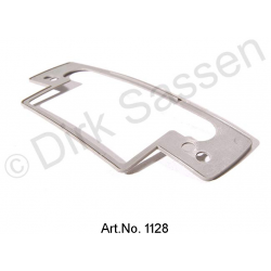 Pad for door handle, outside, gray, from 1971