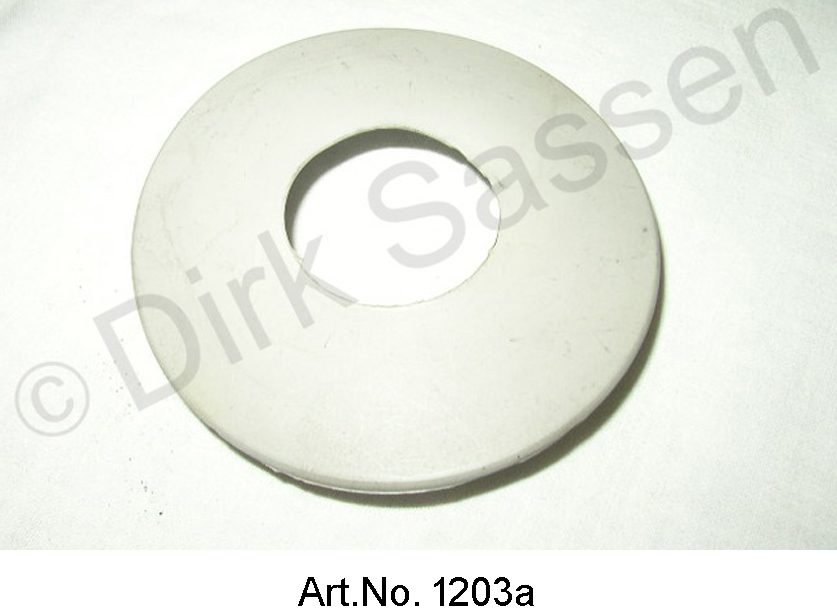 Tank tube rubber protection (in the tank ear), gray