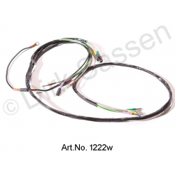 Wiring harness, rear area, reversing light version
