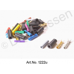 Repair kit for wiring harness, 4 mm round connectors, copper, 20 pieces