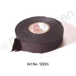 Electrical tape for wiring harness, linen, black