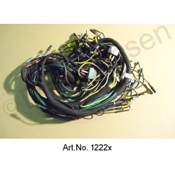 Wiring harness, alternating current, 09/1969 to 04/1971, left battery, round instruments, 4 fuses