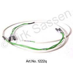 Cable harness for brake wear control