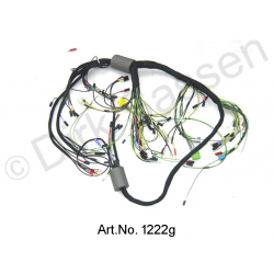 Wiring harness, alternating current, from 04/1971, left battery, round instruments, 4 fuses