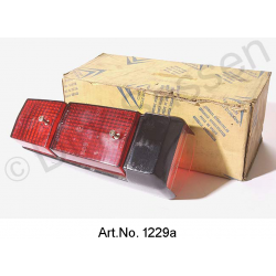 Cap for taillights, black, from 1969, original spare part, Remainders