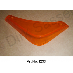 Turn signal glass, convertible