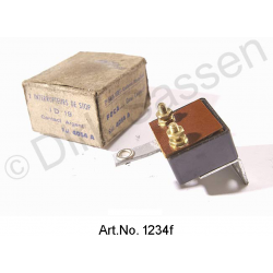 Brake light switch, for brake pedal, until 1962, original spare part