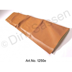 Cover for door trim, top, leather, light brown