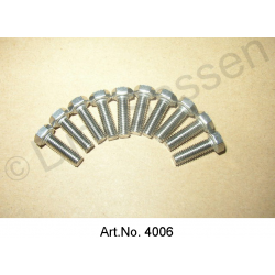 Screw, M5 x 16, stainless steel (10 pieces)