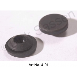 Rubber seal for door, front, door contact switch opposite