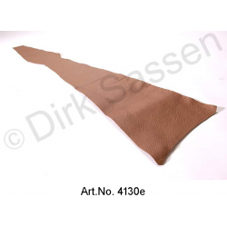 Cover for B pillar, inside, leather, dark brown, top part, left