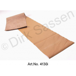 Cover for dashboard, leather, light brown