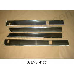 Covering for sills, SM, stainless steel