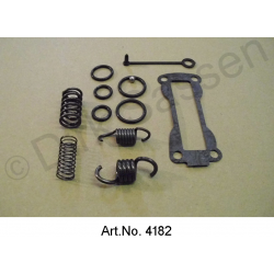 Revision set for clutch corrector, carburetor