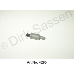 Check valve for windscreen washer hose