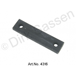 Attached rubber, rear, DX182 80A, newly manufactured