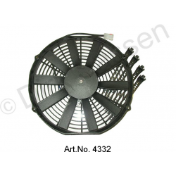 Additional fan, replacement type, installation in front of the radiator, from 1965, powerful