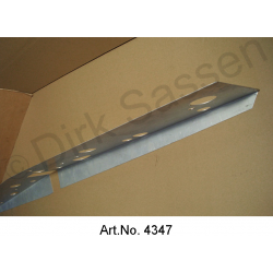 Reinforcement for external sills, Convertible, left, SUPPLEMENT FOR LOCKING