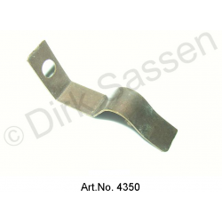 Clasp for turn signal housing, rear, stainless steel