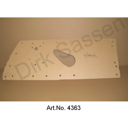 Cardboard for door paneling, Convertible